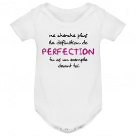 Body bébé La définition de PERFECTION ( version fille )