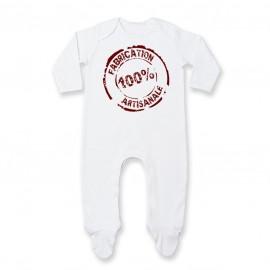 Pyjama bébé Fabrication 100% Artisanale