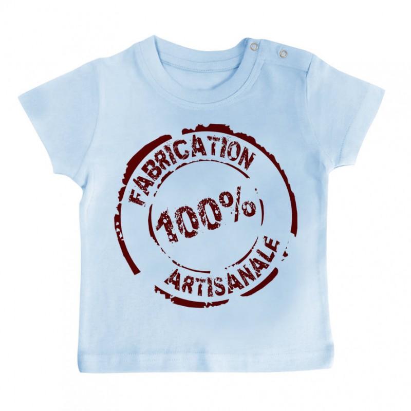 T-Shirt bébé Fabrication 100% Artisanale