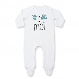 Pyjama bébé 50/50 ( version garçon )