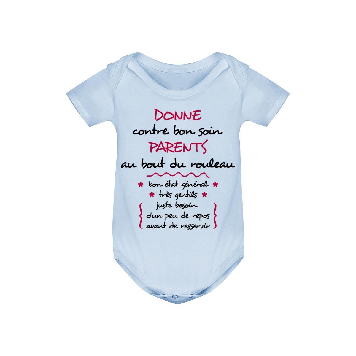Body bébé Donne parents contre bon soin