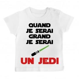 T-Shirt bébé Quand je serai...
