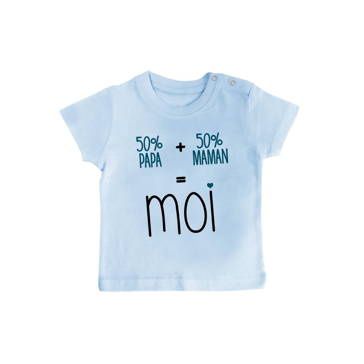 T-Shirt bébé 50/50 ( version garçon )
