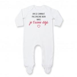 Pyjama bébé Je t'aime déjà