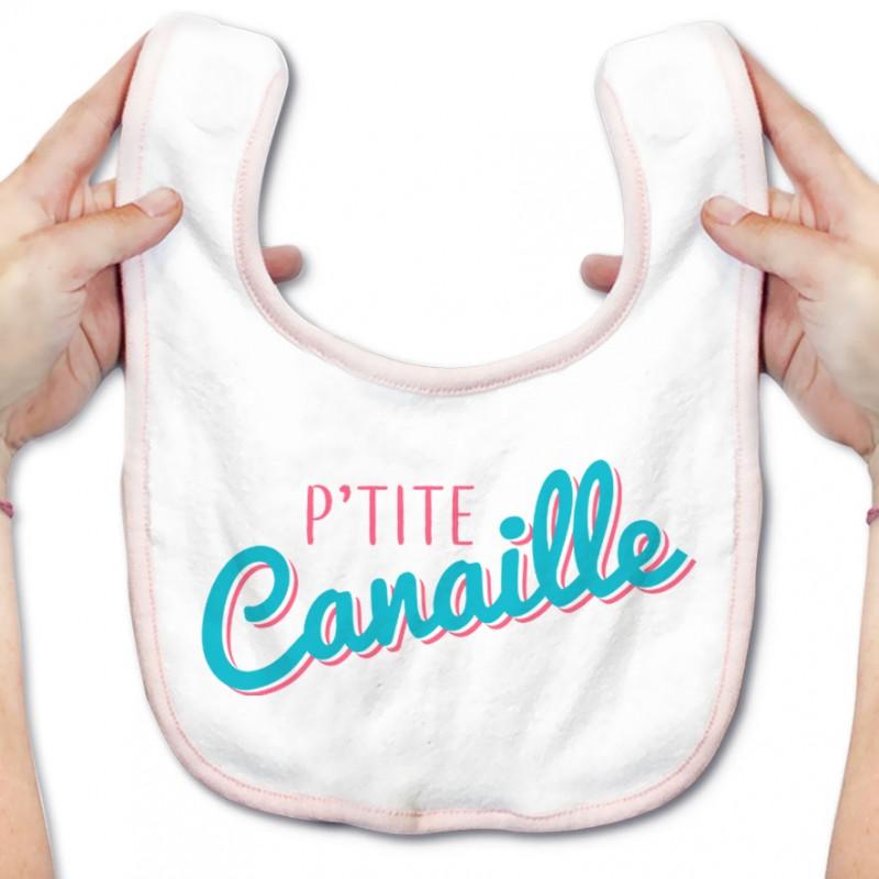 Bavoir bébé P'tite Canaille