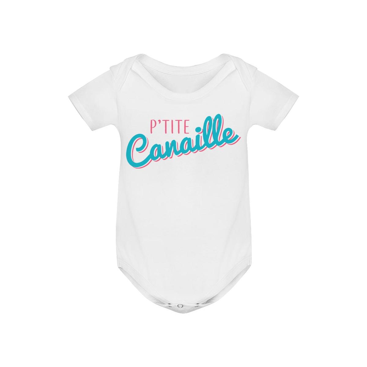 Body bébé P'tite Canaille