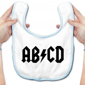 Bavoir bébé AB*CD