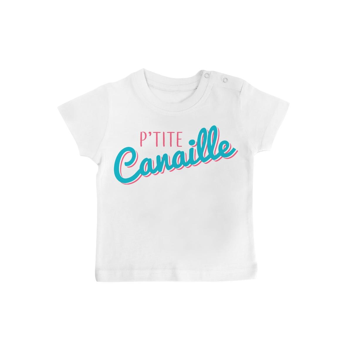 T-Shirt bébé P'tite Canaille