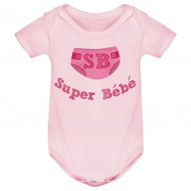 Body bébé Super Bébé ( version fille )