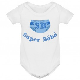 Body bébé Super Bébé ( version garçon )