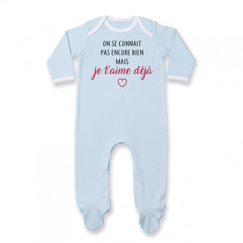 Pyjama bébé Body bébé Je t'aime déjà