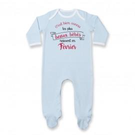 Pyjama bébé Les plus beaux bébés naissent en FEVRIER
