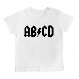 T-Shirt bébé AB*CD