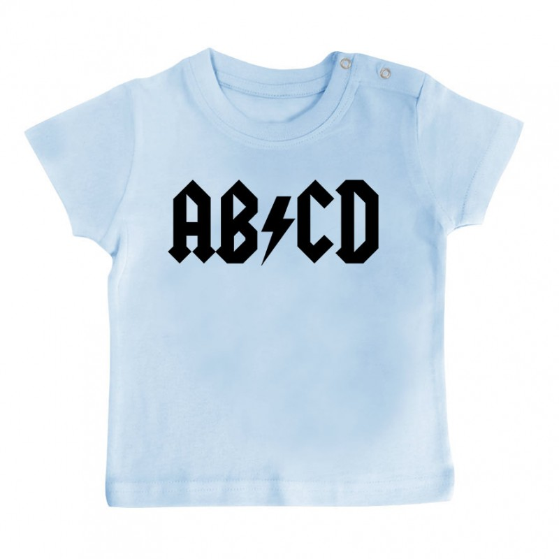 T-Shirt bébé AB*CD