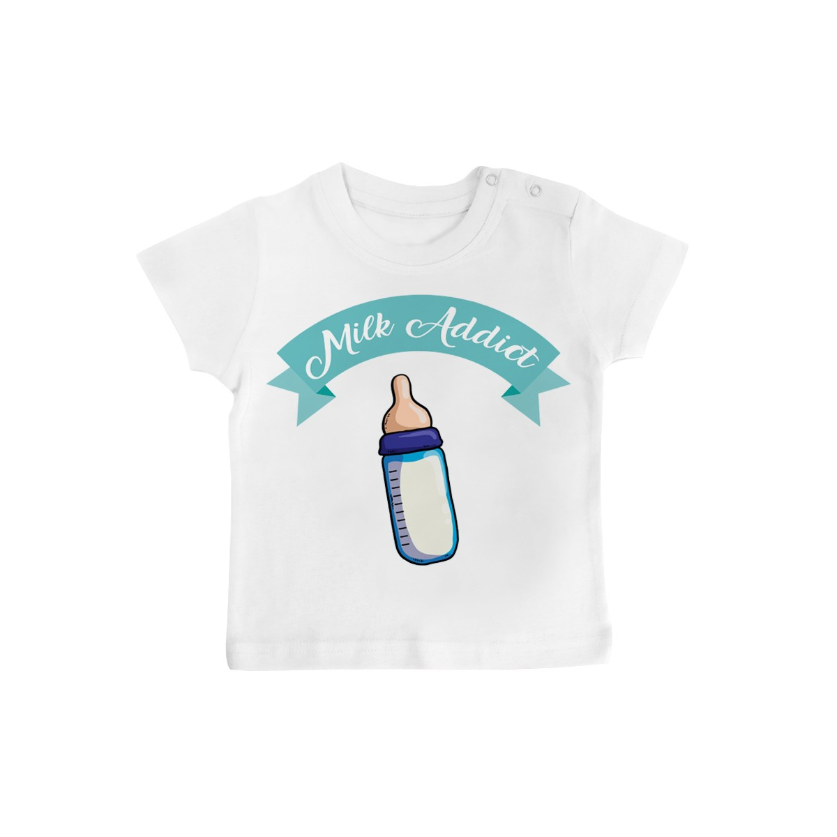 T-Shirt bébé Milk Addict