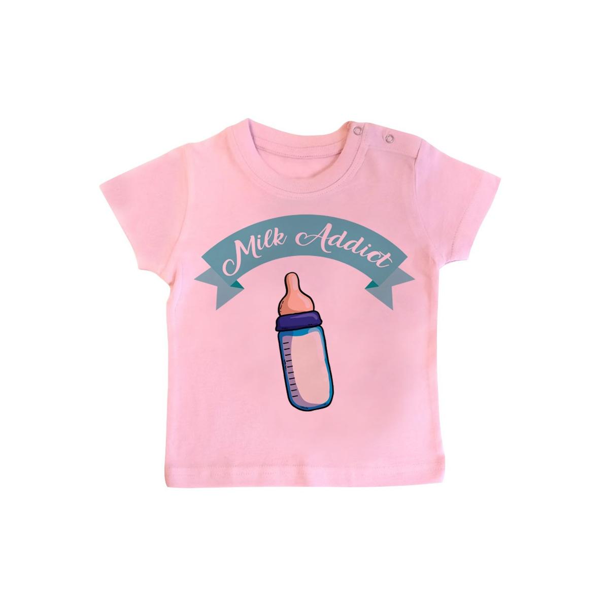 T-Shirt bébé Milk Addict