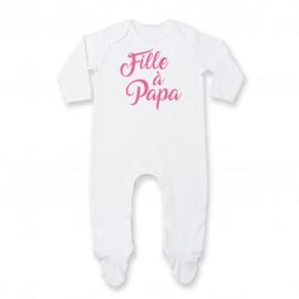 Pyjama bébé Fille à Papa