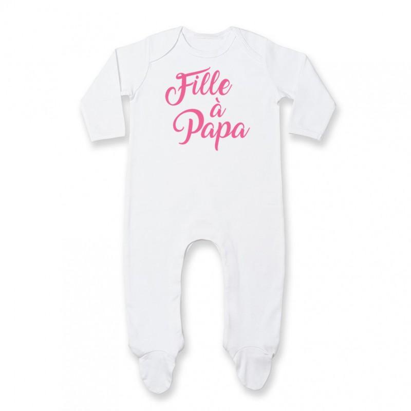 959bc92c5790c Pyjama bébé Fille à Papa