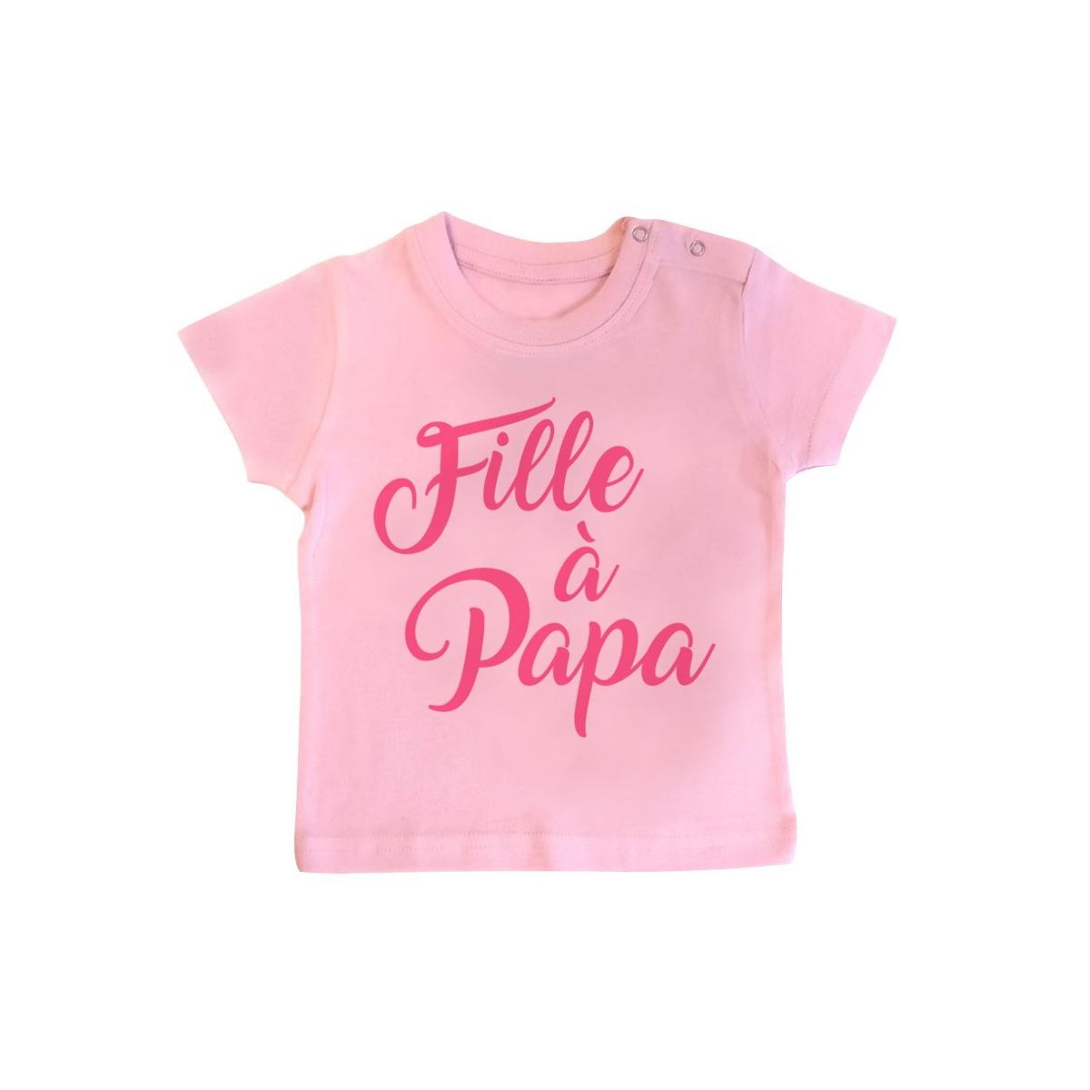 T-Shirt bébé Fille à Papa