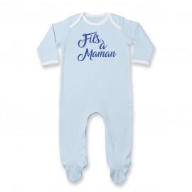 Pyjama bébé Fils à Maman