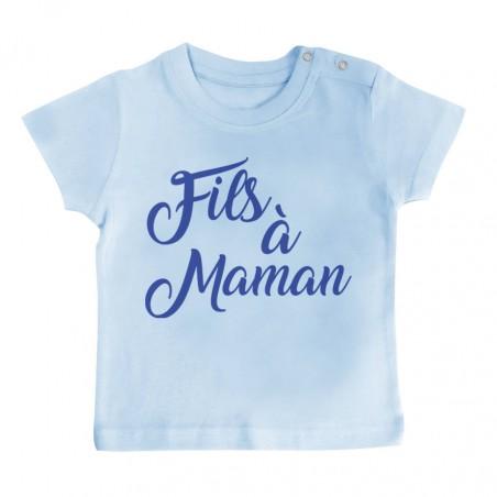 T-Shirt bébé Fils à Maman