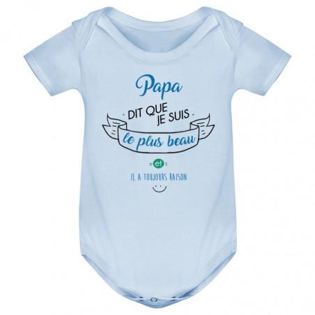 Body bébé Papa dit que je suis le plus BEAU
