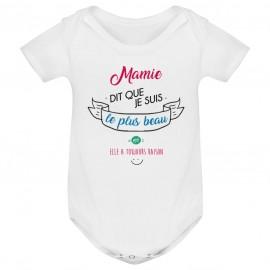 Body bébé Mamie dit que je suis le plus BEAU