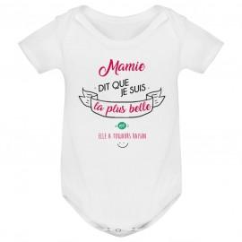 Body bébé Mamie dit que je suis la plus BELLE