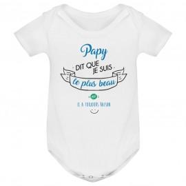 Body bébé Papy dit que je suis le plus BEAU