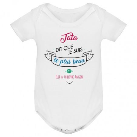 Body bébé Tata dit que je suis le plus BEAU