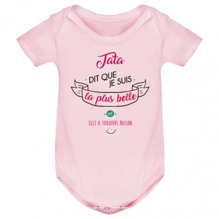 Body bébé Tata dit que je suis la plus BELLE