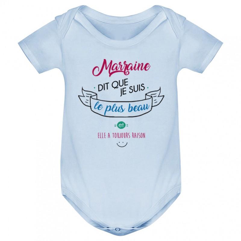Body bébé Marraine dit que je suis le plus BEAU