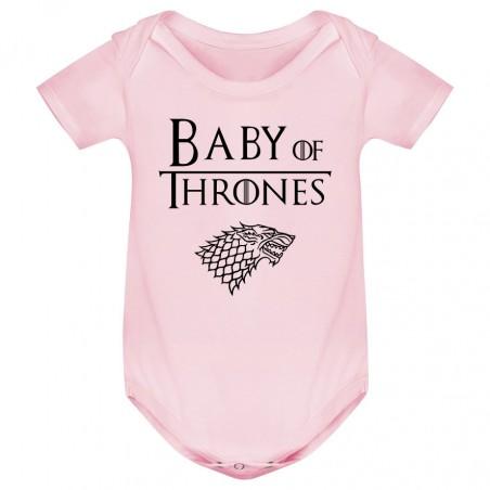 Body bébé Baby of thrones