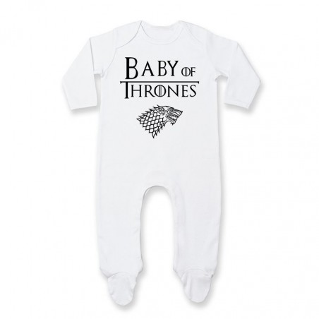 Pyjama bébé Baby of thrones