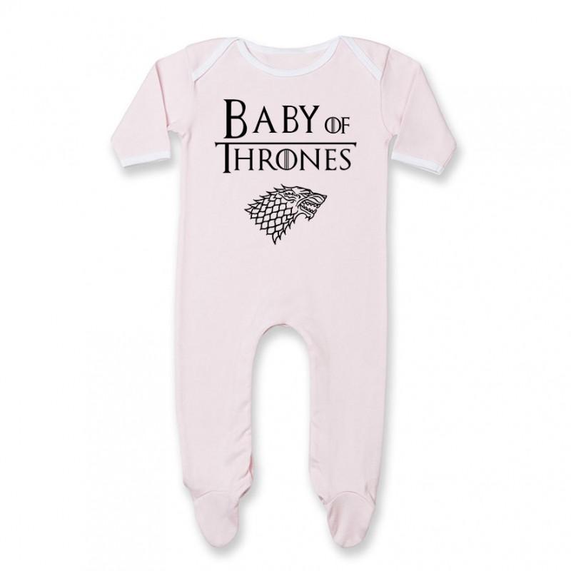 Pyjama bébé Baby of thrones