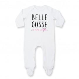 Pyjama bébé Belle gosse de mère en fille