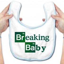 Bavoir bébé Breaking baby