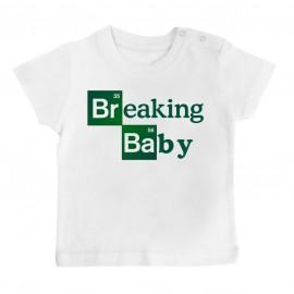 T-Shirt bébé Breaking baby