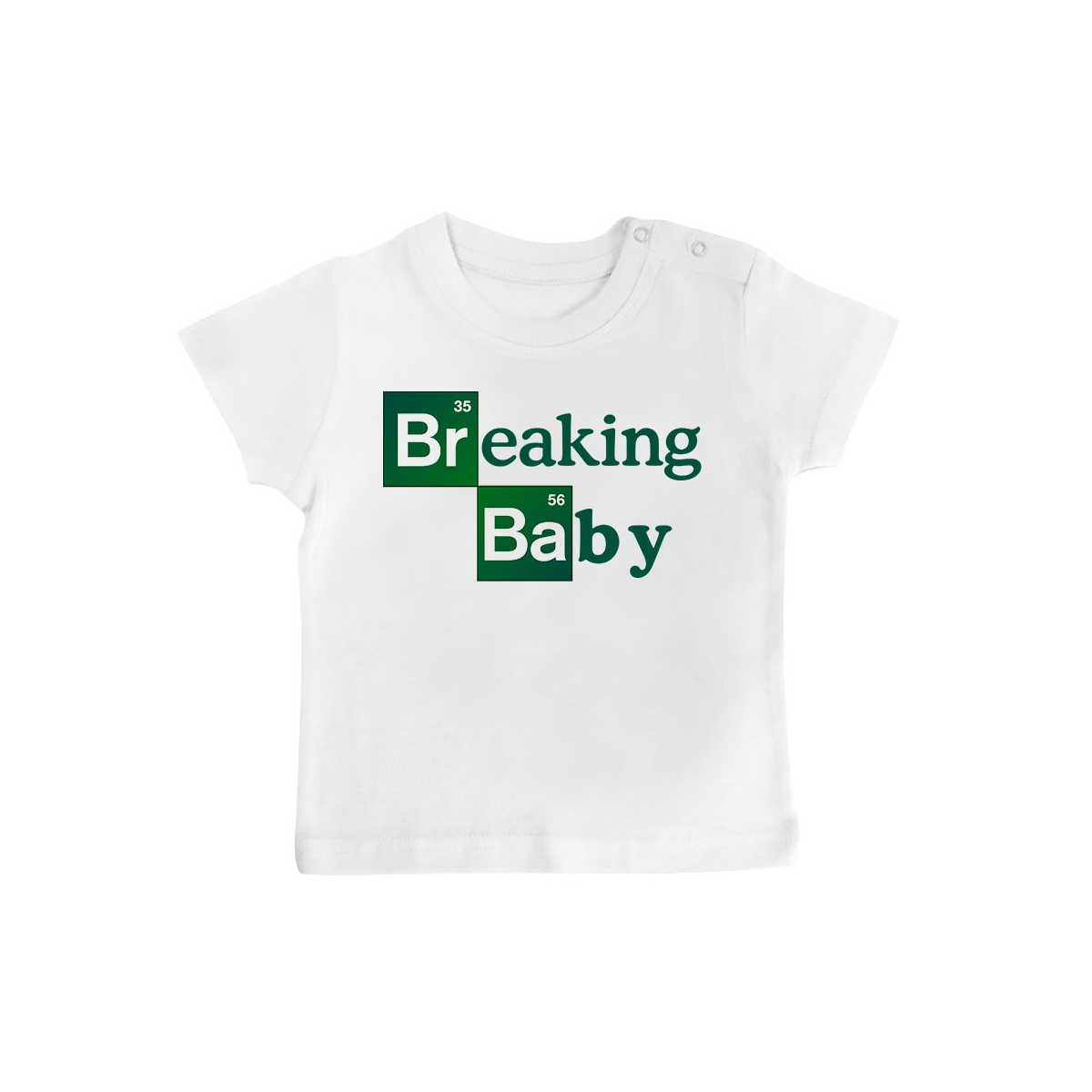 T-Shirt bébé Breaking baby