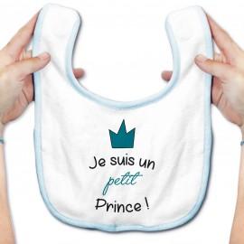 Bavoir bébé Je suis un petit prince