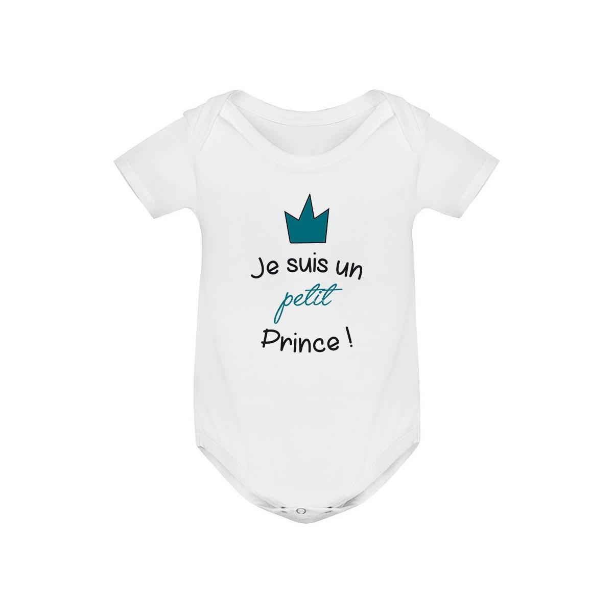 Body bébé Je suis un petit prince