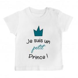 T-Shirt bébé Je suis un petit prince