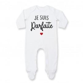 Pyjama bébé Je suis parfaite