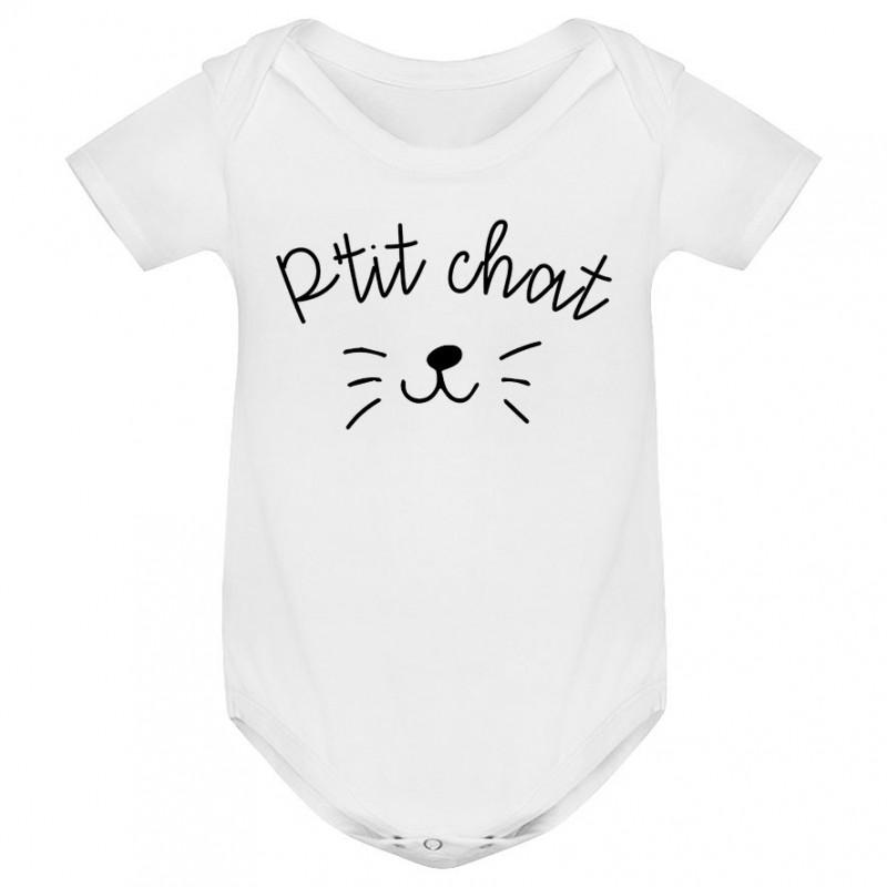 588dbd5715430 Body bébé P'tit chat