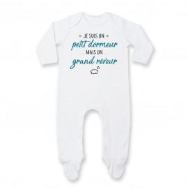 Pyjama bébé Petit dormeur grand rêveur