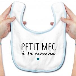 Bavoir bébé Petit mec à sa maman