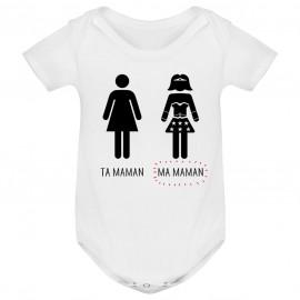 Body bébé Ta maman, Ma maman
