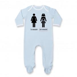Pyjama bébé Ta maman, Ma maman