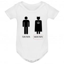 Body bébé Ton papa, Mon papa