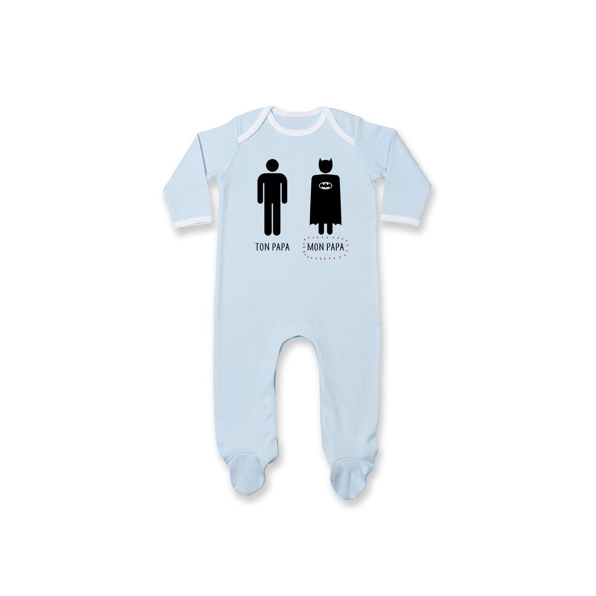 Pyjama bébé Ton papa, Mon papa